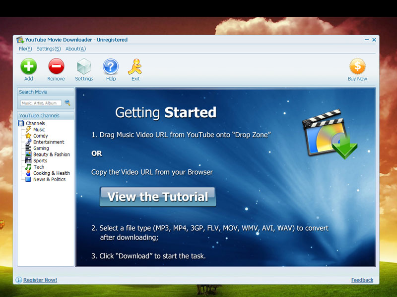 YouTube Movie Downloader 3.0.8.4